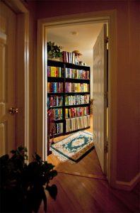 Door to office.