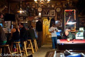 Interior of Genoa Bar, Genoa, Nevada